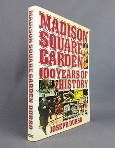 9780671244255: Madison Square Garden: 100 Years of History