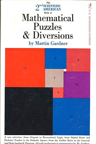 9780671245597: The 2nd Scientific American Book of Mathematical Puzzles and Diversions