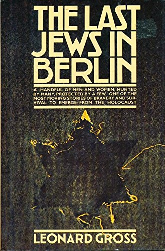 9780671247270: The Last Jews in Berlin