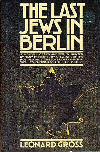 9780671247270: The Last Jews in Berlin
