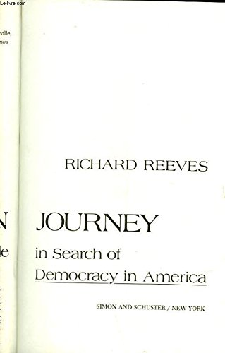 9780671247461: American Journey: Traveling With Tocqueville in Search of Democracy in America