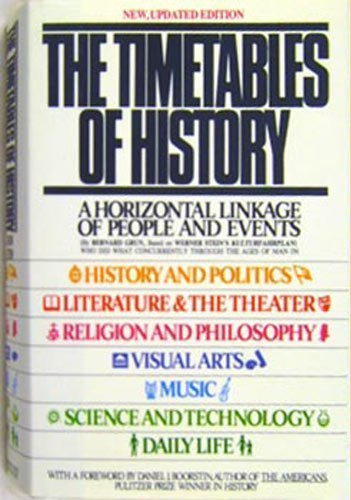 The Timetables of History: A Horizontal Linkage of People and Events, Based on Werner Stein's ...