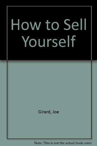 9780671250386: How to Sell Yourself