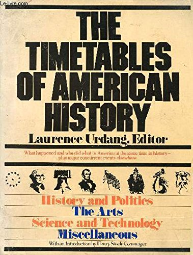 9780671252465: The Timetables of American History