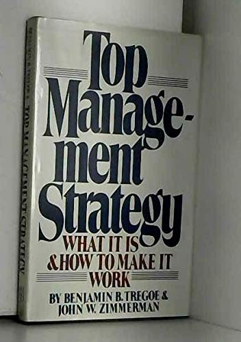 9780671254018: Top Management Strategy