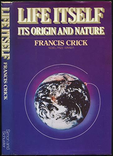 9780671255626: Life Itself: Its Origin and Nature
