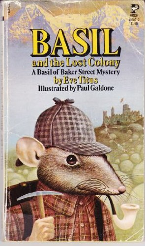 9780671298807: Basil and the Lost Colony (A Basil of Baker Street Mystery)
