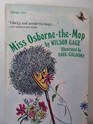 Miss Osborne-the-Mop: Gage, Wilson
