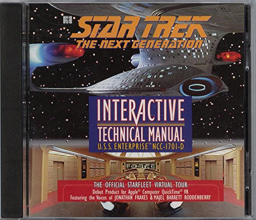 9780671316297: Star Trek The Next Generation: Interactive Technical Manual U.S.S. Enterprise