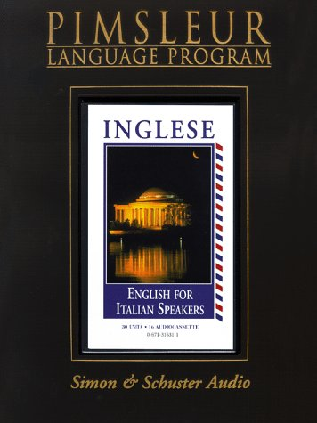 9780671316310: English for Italian Speakers I: Learn to Speak and Understand English with Pimsleur Language Programs (Italian Edition)