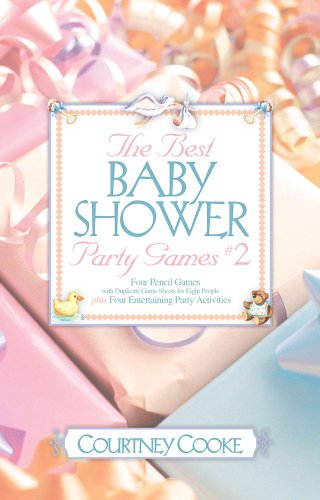 9780671317690: The Best Baby Shower Party Games: Four Pencil Games With Duplicate Game Sheets for Eight People Plus Four Entertaining Party Activities: 2