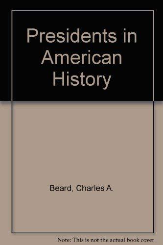 9780671321314: Presidents in American History