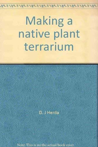 Making a native plant terrarium
