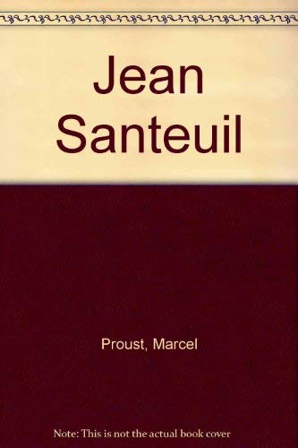 9780671394400: Jean Santeuil
