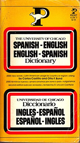 9780671412968: University of Chicago Spanish-English English-Spanish Dictionary