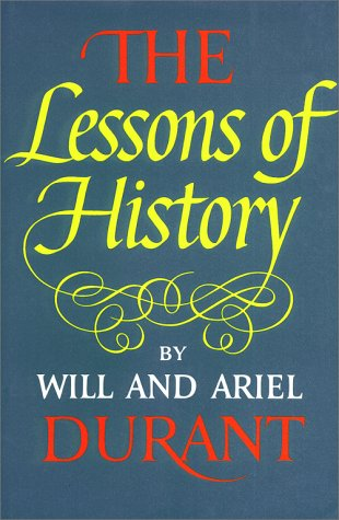 9780671413330: The Lessons of History