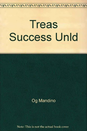 9780671416638: A Treasury of Success Unlimited