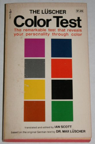 9780671417215: The Luscher Color Test: The Remarkable Test That Reveals Your Personality Through Color