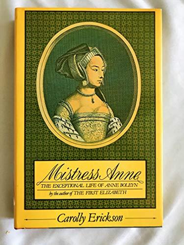 9780671417475: Mistress Anne