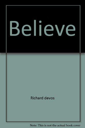 9780671417574: Believe