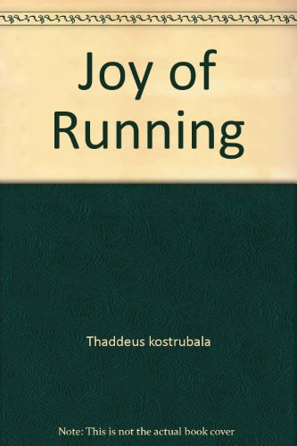 9780671417635: Joy of Running