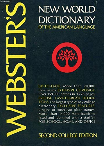 9780671418076: Webster's New World Dictionary of the American Language