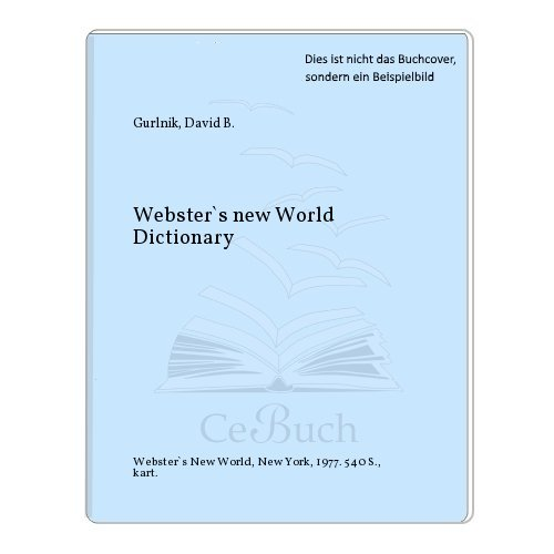 9780671418229: Webster's New World Dictionary, Compact School and Office Edition
