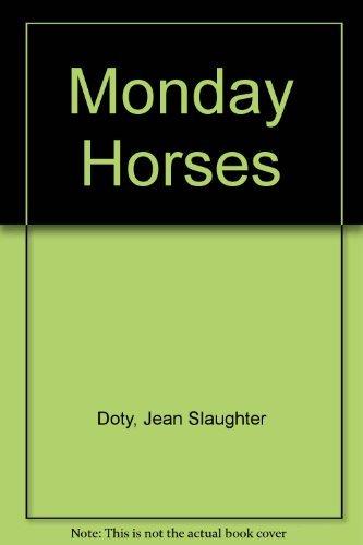 9780671418564: Monday Horses