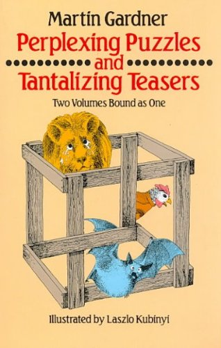 9780671418786: Perplexing Puzzles and Tantalizing Teasers/2 Volumes in 1