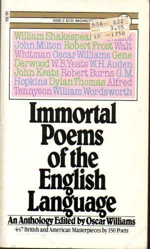 9780671419080: Immortal Poems of the English Language