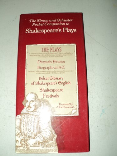 9780671420062: The Pocket Companion to Shakespeare's Plays (Fireside Book)