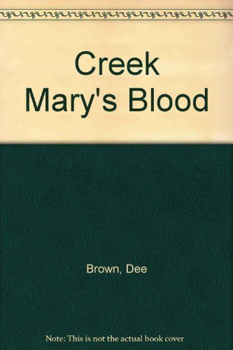 9780671420284: Creek Mary's Blood