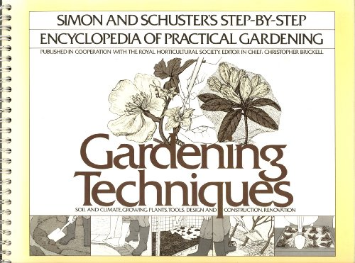 9780671422554: Title: Gardening techniques The Simon and Schuster stepby