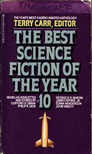 The Best Science Fiction of the Year: Carr, Terry, ed.: