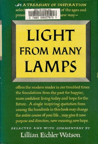 9780671423001: Light from Many Lamps