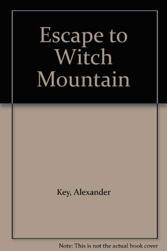 9780671424534: Escape to Witch Mountain