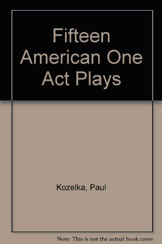 9780671424640: Fifteen American One Act Plays