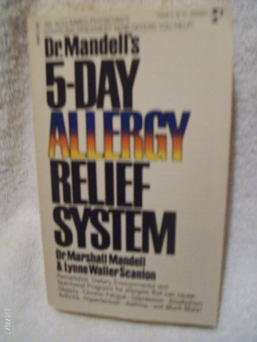 9780671430283: Dr. Mandell's 5-Day Allergy Relief System Edition: reprint