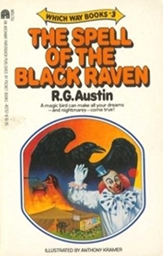 9780671432638: The spell of the black raven (Which way books)