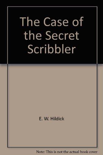 The Case of the Secret Scribbler (McGurk Mystery)