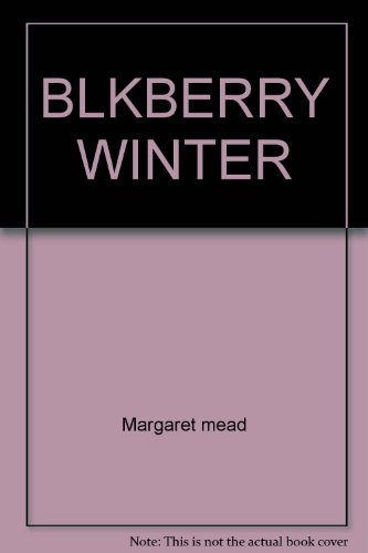 9780671432997: Blackberry Winter