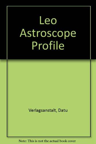 9780671435066: Leo Astroscope Profile