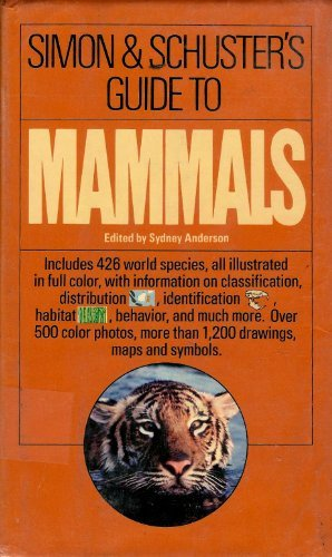 Simon & Schuster's Guide to Mammals: Boitani, Luigi; Bartoli, Stefania