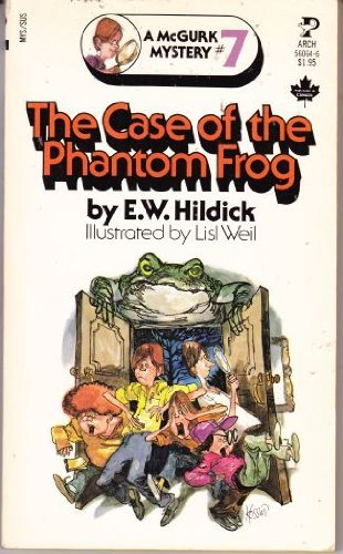 9780671438784: Case of the Phantom Frog