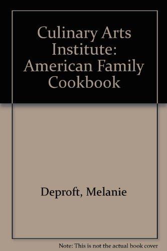 9780671438845: Culinary Arts Institute: American Family Cookbook (A Fireside book)