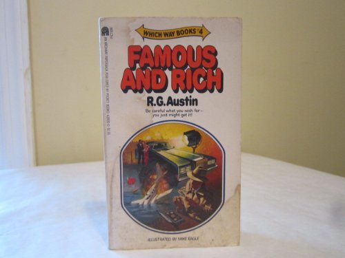 FAMOUS AND RICH. (Which Way Books #4)