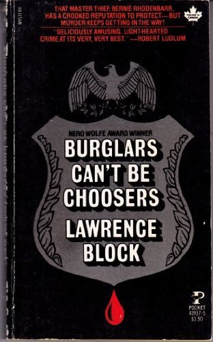 9780671439378: Burglars Can't Be Choosers