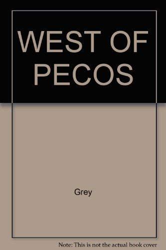 9780671439491: West of Pecos