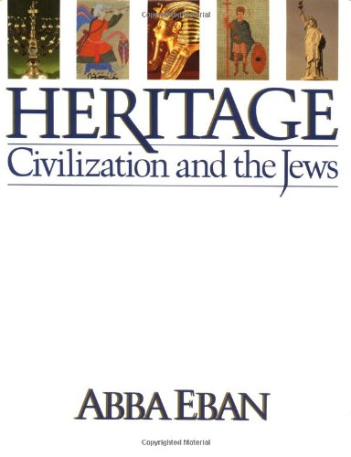 9780671441036: Heritage: Civilization and the Jews