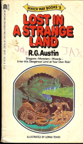 LOST IN A STRANGE LAND. (Which Way Books #5)